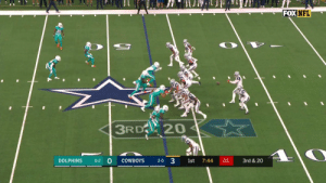 The @dallascowboys convert on 3rd & 20! @JasonWitten always finds a way to get open. @dak #MIAvsDAL #DallasCowboys  📺: FOX 📱: NFL app // Yahoo Sports app Watch FREE on mobile: https://t.co/qnNxI5gZ8j https://t.co/f9u3sWUQDW: FOX NFL  3RD 20  3  3rd &20  DOLPHINS  COWBOYS  0-2  1st  7:44  01  2-0 The @dallascowboys convert on 3rd & 20! @JasonWitten always finds a way to get open. @dak #MIAvsDAL #DallasCowboys  📺: FOX 📱: NFL app // Yahoo Sports app Watch FREE on mobile: https://t.co/qnNxI5gZ8j https://t.co/f9u3sWUQDW