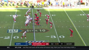 .@Daniel_Jones10's 1st career passing TD is a good one. @eazyengram takes it 75 yards to the ?! #GiantsPride #NYGvsTB  ?: FOX ?: NFL app // Yahoo Sports app Watch FREE on mobile: https://t.co/qnNxI5gZ8j https://t.co/4SUz5X19kK: FOX NFL  66  1ST & 10  -3 0  2  0-2 10  1-1 28  GIANTS  3rd 15:00  BUCCANEERS  09  1st & 10  NFL.COM  NFL  ame Pass and catch all the action all season long. Start your free trial today at NFL.c .@Daniel_Jones10's 1st career passing TD is a good one. @eazyengram takes it 75 yards to the ?! #GiantsPride #NYGvsTB  ?: FOX ?: NFL app // Yahoo Sports app Watch FREE on mobile: https://t.co/qnNxI5gZ8j https://t.co/4SUz5X19kK
