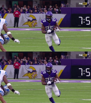 His name is Alexander Mattison 🆙 @AlexMattison22 #SKOL  📺: #DETvsMIN on FOX 📱: NFL app // Yahoo Sports app Watch free on mobile: https://t.co/D5AfU98qAh https://t.co/5HtGoy4oyC: FOX NFL  7:5  Vinang  25  LION   FOX NFL  7:5  Vin  25  LION His name is Alexander Mattison 🆙 @AlexMattison22 #SKOL  📺: #DETvsMIN on FOX 📱: NFL app // Yahoo Sports app Watch free on mobile: https://t.co/D5AfU98qAh https://t.co/5HtGoy4oyC