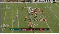6? 7? 8? More?  Let's count how many defenders Chris Thompson made miss on this CRAZY @redskins TD. #HTTR https://t.co/iHnmjE4nnG: FOX NFL  75  20 2 6  EAGLES  13 REDSKINS  7 2ND 1:25 :00 2ND & 6 6? 7? 8? More?  Let's count how many defenders Chris Thompson made miss on this CRAZY @redskins TD. #HTTR https://t.co/iHnmjE4nnG