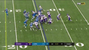 If Rodgers, Mahomes, or Brady made this throw it'd be all over Twitter  But since Kirk Cousins did it nobody saw it smh https://t.co/oKn2LdHNjF: FOX NFL  N  30  4-2 O  VIKINGS  LIONS  2-2-1 7  1st  5:22  09  2nd & 7  2T If Rodgers, Mahomes, or Brady made this throw it'd be all over Twitter  But since Kirk Cousins did it nobody saw it smh https://t.co/oKn2LdHNjF