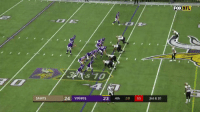 Memes, Nfl, and New Orleans Saints: FOX  NFL  SAINTS  24 VIKINGS  23 4th :10 03 3rd & 10 😱😱 The BEST Miracle Touchdowns of All Time! 😱😱 #TDTuesday https://t.co/dbszQhoRF3