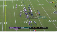 Philadelphia Eagles, Football, and Nfl: FOX  NFL  ST &10  23  VIKINGS 1-21 3 EAGLES 22 3 2nd 4:27 06 1st & 10 FAT MAN TOUCHDOWN https://t.co/2K3j5IeCUB