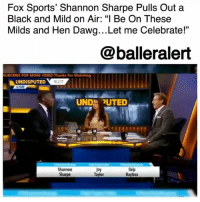 "Fox Sports' Shannon Sharpe Pulls Out a Black and Mild on Air: ""I Be On These Milds and Hen Dawg…Let me Celebrate!"" – blogged by @MsJennyb (video @undisputedonfs1) ⠀⠀⠀⠀⠀⠀⠀ ⠀⠀⠀⠀⠀⠀⠀ On Monday, ShannonSharpe celebrated the Denver Broncos' win over the Oakland Raiders with an old-fashioned Black and Mild. Since the inception of ""Undisputed,"" Sharpe has transitioned from NFL Hall of Famer to the fan-favorite co-host and star of the show. ⠀⠀⠀⠀⠀⠀⠀ ⠀⠀⠀⠀⠀⠀⠀ Just last week, Sharpe made headlines for calling out one of his best friends, Ray Lewis, for his hypocrisy. However, that was not the first time Sharpe spoke out against something he didn't believe in, and it definitely won't be his last, as he has shown to be ""capable of both emotional, critical monologues."" ⠀⠀⠀⠀⠀⠀⠀ ⠀⠀⠀⠀⠀⠀⠀ One day after his team won against Marshawn Lynch and the Raiders, Sharpe whipped out a pack of Black and Milds to celebrate. ⠀⠀⠀⠀⠀⠀⠀ ⠀⠀⠀⠀⠀⠀⠀ ""If your team won, you can join me with a victory cigar,"" Sharpe said, as his co-hosts looked on in disbelief. ""You smoke cigars,"" Skip Bayless said. ⠀⠀⠀⠀⠀⠀⠀ ⠀⠀⠀⠀⠀⠀⠀ ""You're calling Black and Milds cigars now?"" Joy Taylor asked. ""Shannon,"" she continued, ""This is very off brand."" ⠀⠀⠀⠀⠀⠀⠀ ⠀⠀⠀⠀⠀⠀⠀ ""I be on these milds and hen dawg and now ya'll got problems with me,"" Sharpe said. ""Let me celebrate!"" ⠀⠀⠀⠀⠀⠀⠀ ⠀⠀⠀⠀⠀⠀⠀ Sharpe's actions sent Twitter in an uproar, with many willing to protect Sharpe at all costs. ""The man is a national treasure,"" a user said.: Fox Sports' Shannon Sharpe Pulls Out a  Black and Mild on Air: ""I Be On These  Milds and Hen Dawg...Let me Celebrate!""  @balleralert  UBCRIBE FOR MORE VIDEO.Thanks For Watching  UNDISPUTED  LIVE  0 217  UND UTED  Shannon  Sharpe  Joy  Taylor  Skip  Bayless Fox Sports' Shannon Sharpe Pulls Out a Black and Mild on Air: ""I Be On These Milds and Hen Dawg…Let me Celebrate!"" – blogged by @MsJennyb (video @undisputedonfs1) ⠀⠀⠀⠀⠀⠀⠀ ⠀⠀⠀⠀⠀⠀⠀ On Monday, ShannonSharpe celebrated the Denver Broncos' win over the Oakland Raiders with an old-fashioned Black and Mild. Since the inception of ""Undisputed,"" Sharpe has transitioned from NFL Hall of Famer to the fan-favorite co-host and star of the show. ⠀⠀⠀⠀⠀⠀⠀ ⠀⠀⠀⠀⠀⠀⠀ Just last week, Sharpe made headlines for calling out one of his best friends, Ray Lewis, for his hypocrisy. However, that was not the first time Sharpe spoke out against something he didn't believe in, and it definitely won't be his last, as he has shown to be ""capable of both emotional, critical monologues."" ⠀⠀⠀⠀⠀⠀⠀ ⠀⠀⠀⠀⠀⠀⠀ One day after his team won against Marshawn Lynch and the Raiders, Sharpe whipped out a pack of Black and Milds to celebrate. ⠀⠀⠀⠀⠀⠀⠀ ⠀⠀⠀⠀⠀⠀⠀ ""If your team won, you can join me with a victory cigar,"" Sharpe said, as his co-hosts looked on in disbelief. ""You smoke cigars,"" Skip Bayless said. ⠀⠀⠀⠀⠀⠀⠀ ⠀⠀⠀⠀⠀⠀⠀ ""You're calling Black and Milds cigars now?"" Joy Taylor asked. ""Shannon,"" she continued, ""This is very off brand."" ⠀⠀⠀⠀⠀⠀⠀ ⠀⠀⠀⠀⠀⠀⠀ ""I be on these milds and hen dawg and now ya'll got problems with me,"" Sharpe said. ""Let me celebrate!"" ⠀⠀⠀⠀⠀⠀⠀ ⠀⠀⠀⠀⠀⠀⠀ Sharpe's actions sent Twitter in an uproar, with many willing to protect Sharpe at all costs. ""The man is a national treasure,"" a user said."