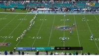 Memes, Dolphins, and 🤖: FOX  TITANS  10 DOLPHINS  24 4th 10:22 07 Was @DariusJennings_ even touched?!  94-yard kickoff return! #TitanUp #Kickoff2018 https://t.co/t9ty5WCQhU