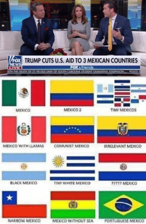 llamas: FOX TRUMP CUTS U.S. AID TO 3 MEXICAN COUNTRIES  MEXICO  MEXICO 2  TINY MEXICOs  MEXICO WITH LLAMAS  COMUNİST MEXICO  IRRELEVANT MEXICO  BLACK MEXICO  INY WHITE MEXICO  777 MEXICO  NARROW MEXICO  MEXICO WITHOUT SEA  PORTUGUESE MEXICO