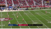San Francisco 49ers, Memes, and Seahawks: FOXNFL  SEAHAWKS 85 6 49ERS  3-10 O 1st 9:27 RICHIE JAMES JR. GOES THE DISTANCE!  📺: FOX #GoNiners https://t.co/PzSPruhj5M