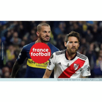 Football, Memes, and France: france  o football  AIRWAY  HU  Siguete riendo del deporte en MEMEDEPORTES.COM El feo de France Football a Messi balondeoro benedetto boca francefootball messi memedeportes https:-www.memedeportes.com-futbol-el-feo-de-france-football-a-messi
