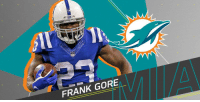 Memes, Frank Gore, and 🤖: FRANK GORE Frank Gore agrees to one-year contract with @MiamiDolphins: https://t.co/AnQUXy7mZM https://t.co/dqTjUKdHUX