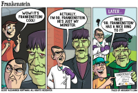 """<p><a href=""""https://omg-images.tumblr.com/post/164417150212/frankenstein"""" class=""""tumblr_blog"""">omg-images</a>:</p>  <blockquote><p>Frankenstein</p></blockquote>: Frankenstein  WOW! IT'S  LATER.  ACTUALLY,  FRANKENSTEIN!M DR. FRANKENSTEIN.  NICE!  """"DR. FRANKENSTEIN  HAS A NICE RING  TO IT!  COOL!  HES JUST MY  MONSTER  UNIVERSI  Doctor of  Medicine  2017 ALEXANDER HOFFMAN. ALL RIGHTS RESERVED  TALES OF ABSURDITY.COM <p><a href=""""https://omg-images.tumblr.com/post/164417150212/frankenstein"""" class=""""tumblr_blog"""">omg-images</a>:</p>  <blockquote><p>Frankenstein</p></blockquote>"""