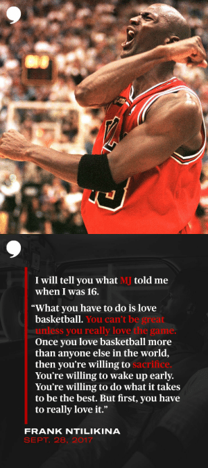 .@FrankLikina shares the advice he received from Michael Jordan as a 16-year-old.   ➡️ https://t.co/q4G0s2dUbj https://t.co/ojakhHu1MA: .@FrankLikina shares the advice he received from Michael Jordan as a 16-year-old.   ➡️ https://t.co/q4G0s2dUbj https://t.co/ojakhHu1MA