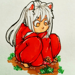 freaky-fan-art: Colored little InuYasha :3 #inuyasha #animeboy #traditionaldrawing #cute #dogdemon #baby #babyinuyasha: freaky-fan-art: Colored little InuYasha :3 #inuyasha #animeboy #traditionaldrawing #cute #dogdemon #baby #babyinuyasha
