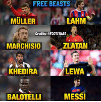 These players didn't cost their recent clubs any transfer money 😏 Who else goes in this list? 👇 Double Tap and follow for more! 🔥 ___________________________________________ football soccer messi cr7 bundesliga bpl laliga seriea realmadrid barcelona atletico bayern bvb juventus milan chelsea arsenal manutd liverpool leicester neymar james bale neuer pirlo auba reus pogba dybala: FREE BEASTS  MULLER  LAHM  Credits:@FOOTY BASE  MARCHISIO  ZLATAN  KHEDIRA  LEWA.  BALOTELLI  MESS These players didn't cost their recent clubs any transfer money 😏 Who else goes in this list? 👇 Double Tap and follow for more! 🔥 ___________________________________________ football soccer messi cr7 bundesliga bpl laliga seriea realmadrid barcelona atletico bayern bvb juventus milan chelsea arsenal manutd liverpool leicester neymar james bale neuer pirlo auba reus pogba dybala