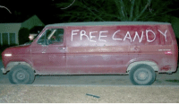 FREE CANDY I see the inside of your tucks and I thought your inner kid would want to see my van