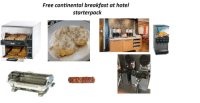 Starter Packs, Breakfast, and Free: Free continental breakfast at hotel  starterpack  02  Dualit  Dualit III