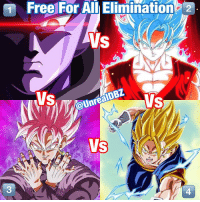Community, Dragonball, and Frieza: Free For All Elimination 2  W@UnrealDBz  VS COMMUNITY POLL: Free For All Death Battle! Between the following 4 warriors, which fighter do you believe would emerge as the winner by the end of all 4 had to fight to the death?! The ultimate battle royal death baffle! Who wins? Be sure to check out my reviews and Dragon Ball content on my YouTube channel for more! Dont forget to share this news everywhere and Stay tuned! check out my YouTube channel at UnrealEntGaming for all the most epic battles and so discussions. Don't miss all the epic news, what-if battles, updates and more Here @ Youtube.Com-UnrealEntGaming Youtube.Com-UnrealEntGaming Youtube.Com-UnrealEntGaming DragonballZ DBZ DBGT Goku Vegeta Zamasu Beerus Piccolo Dragonball Gogeta SonGoku Anime Frieza GokuBlack Xenoverse2 Vegito SSGSS SuperSaiyanGod Champa Whis Manga SuperSaiyan Gohan DBS DragonBallSuper SSG KidBuu SuperSaiyanBlue Vados Trunks