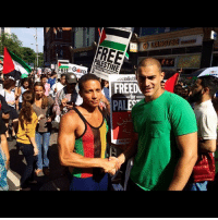 """Friends, Meme, and Memes: FREE Gezg  ialistV  FREEDU  PAL This is an old picture but I was at every Palestine march and doing my best to raise awareness and support the people. This is one of my closest friends lowkey Just incase you needed clarification support the most oppressed people wherever they are, what ever colour they are and wherever they are from. I don't support """"elite"""" systems, I am here for the people, simple. chakabars Also I was raised Rasta and African spiritual so I don't believe in Zionism. anymore questions on the matter I'll just delete and block you, I have more important things to sort. I'm not a meme warrior, I actually do stuff."""