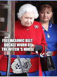 ~ By Ded Silence: FREE MASONIC BELT  BUCKLE WORN BYA  THE WITCH'S NURSE ~ By Ded Silence
