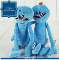 Memes, 🤖, and Plush: FREE  SHIPPING!  LINKIN BIO I'm Mr MeeSeeks Look At Me!!!! To Celebrate Season 3 Coming Out Soon We've Got 33% OFF These Mr MeeSeeks Plush Toys As Well As FREE SHIPPING!!! Tag A Friend Who Needs One Of These! Get Yours From The Link In The Bio 👉
