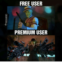 Memes, Ghost, and 🤖: FREE USER  PREMIUM USER Just finished all ghost recon beta story missions, great game