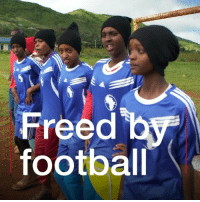 A Kenyan activist is helping girls give child marriage and FGM the red card. Tap the link in our bio ⬆️ to learn more about how Fatuma Abdulkadir Adan is using football to empower girls in Africa. ⚽️💪👭 football kenya empowerment africa bbcnews: Freed b  footbal A Kenyan activist is helping girls give child marriage and FGM the red card. Tap the link in our bio ⬆️ to learn more about how Fatuma Abdulkadir Adan is using football to empower girls in Africa. ⚽️💪👭 football kenya empowerment africa bbcnews