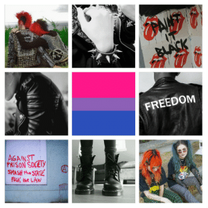 lgbt-mood:  Bisexual with punk/badass/rebel theme, for anon, (helper Scoob): FREEDOM  AGAINST  PRISON SOCEly  SMASH the STAT lgbt-mood:  Bisexual with punk/badass/rebel theme, for anon, (helper Scoob)