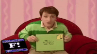 "Blue's Clues, Funny, and Lit: FREEKAHzol  F.  HIT  ""2ー This episode of blues clues was lit"