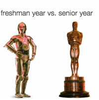 accurate: freshman year vs. senior year accurate