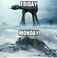 Monday Memes: FRIDAY  MONDAY