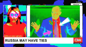 cnn.com, Friday, and News: Friday  Moscow  BREAKING NEWS  RUSSIA MAY HAVE TIES  CNN  2:30 PM CET I 🅱et trump has something to do with this😤😤😤😤 (i.redd.it)
