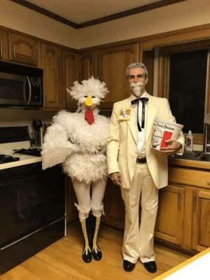 Best costume ever!: Fried Chicken Best costume ever!