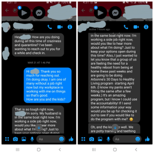 Friend reached out during COVID-19. I mistakenly thought she was genuinely concerned.: Friend reached out during COVID-19. I mistakenly thought she was genuinely concerned.