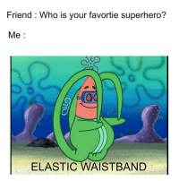 """<p>&ldquo;I CAN FINALLY TOUCH MY TOES!&rdquo; via /r/dank_meme <a href=""""http://ift.tt/2wdI9yd"""">http://ift.tt/2wdI9yd</a></p>: Friend : Who is your favortie superhero?  Me:  ELASTIC WAISTBAND <p>&ldquo;I CAN FINALLY TOUCH MY TOES!&rdquo; via /r/dank_meme <a href=""""http://ift.tt/2wdI9yd"""">http://ift.tt/2wdI9yd</a></p>"""