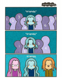 """friends; as time goes on, you realise that quality > quantity. i did something a little different than usual, hope you like it 💕 (Thanks for 42.3K! 💕): """"friends""""  """"friends""""  friends  relatable doodles a friends; as time goes on, you realise that quality > quantity. i did something a little different than usual, hope you like it 💕 (Thanks for 42.3K! 💕)"""