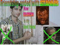 New Best-friend.: Friendship  ended  with  STANNs  Now  EURON  is my  best friend New Best-friend.