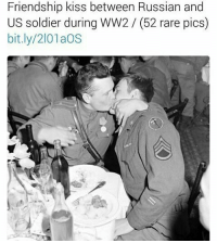 my mom just reminded me of a very important audition i have to go to and i havent practiced for anything and its in less than a month and i forgot to memorize scales and its so many scales im legit dying on the inside rn: Friendship kiss between Russian and  US soldier during WW2 (52 rare pics)  bit.ly/2101aOS my mom just reminded me of a very important audition i have to go to and i havent practiced for anything and its in less than a month and i forgot to memorize scales and its so many scales im legit dying on the inside rn