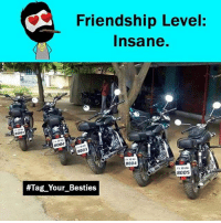 Memes, Friendship, and 🤖: Friendship Level  Insane.  8001  8002  8003  8004  8005  #Tag Your Besties