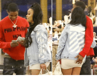 Blac Chyna, Memes, and Shopping: Frisky Business. Blac Chyna took her 18-year-old BF shopping. tmz blacchyna kardashian