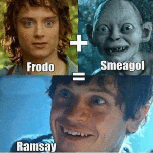 https://t.co/PVpKqF08i1: Frodo  Smeagol  Ramsa https://t.co/PVpKqF08i1