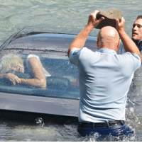 From @bluelineofcourage A very lucky woman was saved by two police officers when her BMW rapidly sank into Waitemata Harbour in Auckland, New Zealand back in February 2015. Officers Paul Watts and Simon Russell estimated the woman had less than one minute left when they got to her. The extremely distraught woman was squashed against the rear window as the front of the car quickly sank. With only minutes to spare, Officer Russell's attempted to smash one of the car windows with a baton with no luck. Officer Russell then managed to shatter the rear window of the car with a rock that he was passed from the water. The officers carried the woman to safety just in the nick of time before the car sank to the harbor floor. police cop cops thinblueline lawenforcement policelivesmatter supportourtroops BlueLivesMatter AllLivesMatter brotherinblue bluefamily tbl thinbluelinefamily sheriff policeofficer backtheblue: From @bluelineofcourage A very lucky woman was saved by two police officers when her BMW rapidly sank into Waitemata Harbour in Auckland, New Zealand back in February 2015. Officers Paul Watts and Simon Russell estimated the woman had less than one minute left when they got to her. The extremely distraught woman was squashed against the rear window as the front of the car quickly sank. With only minutes to spare, Officer Russell's attempted to smash one of the car windows with a baton with no luck. Officer Russell then managed to shatter the rear window of the car with a rock that he was passed from the water. The officers carried the woman to safety just in the nick of time before the car sank to the harbor floor. police cop cops thinblueline lawenforcement policelivesmatter supportourtroops BlueLivesMatter AllLivesMatter brotherinblue bluefamily tbl thinbluelinefamily sheriff policeofficer backtheblue