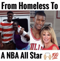 Jimmy Butler went from Homeless to a NBA All Star 💯🔥 - Follow (ME) @cleanestclipz for more! 🏀: From Homeless To  ILIA  A NBA All Star  100 Jimmy Butler went from Homeless to a NBA All Star 💯🔥 - Follow (ME) @cleanestclipz for more! 🏀