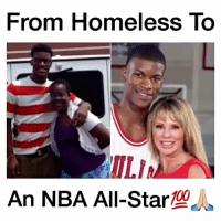 Jimmy Butler went from being homeless to an NBA All-Star💯🙏🏼 Respect - Follow @cleanhighlights for more! - Via 📽 (@cleanestclipz): From Homeless To  ILIA  An NBA All-Star  100 Jimmy Butler went from being homeless to an NBA All-Star💯🙏🏼 Respect - Follow @cleanhighlights for more! - Via 📽 (@cleanestclipz)