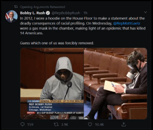 From house representative to thug in seconds with just a wardrobe change: From house representative to thug in seconds with just a wardrobe change