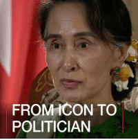 "Memes, Muslim, and Live: FROM ICON TO  POLITICIAN 6 APR: Aung San Suu Kyi has denied there is ethnic cleansing of the Rohingya Muslim minority in Myanmar, despite widespread reports of abuses. In an exclusive interview with the BBC, the Nobel peace prize winner acknowledged problems in Rakhine state, where most Rohingya people live. But she said ethnic cleansing was ""too strong"" a term to use. Find out more: bbc.in-aungsansuukyi Myanmar AungSanSuuKyi Burma Rohingya EthnicCleansing BBCShorts BBCNews @BBCNews Still credit: Getty"