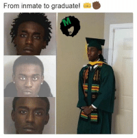 Repost from @melanin.university It is so powerful! You can achieve anything you want! Remember that and keep up the hard work. blackexcellence blacklivesmatter melanin queen king problack blackandproud africanamerican blackpride blackhistorymonth: From inmate to graduate!  CU Repost from @melanin.university It is so powerful! You can achieve anything you want! Remember that and keep up the hard work. blackexcellence blacklivesmatter melanin queen king problack blackandproud africanamerican blackpride blackhistorymonth