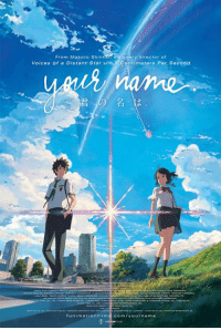 The Academy of Motion Picture Arts and Sciences has announced that Makoto Shinkai's newest film Your Name. is a contender for the Oscars, for Best Animated Feature! Check out our announcement and look out for a theatrical run in 2017, with both English dub and English sub options: http://funi.to/2fhpHJo   Learn more about this award-winning film and sign up for email updates at funimationfilms.com/yourname.: From Makoto Shin visionary director of  Voices of a Distant Star ana,5 Contimeters Per Second  funimation film  com/your name The Academy of Motion Picture Arts and Sciences has announced that Makoto Shinkai's newest film Your Name. is a contender for the Oscars, for Best Animated Feature! Check out our announcement and look out for a theatrical run in 2017, with both English dub and English sub options: http://funi.to/2fhpHJo   Learn more about this award-winning film and sign up for email updates at funimationfilms.com/yourname.