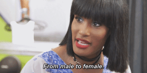 Love, Tumblr, and Blog: From male  to female cocaineteas:  D. Smith the first trans girl in the cast of Love  Hip Hop: Atlanta, S5.