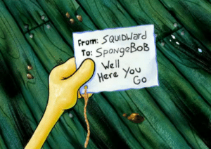 Squidward, Tumblr, and Blog: From: SQUIDWard  To: SpongaBok  We ll  era Yov tchaikovskaya: me turning in a research paper that i wrote in one sitting and didnt even proofread at all bc i procrastinated until the last possible second to write it and turn it in