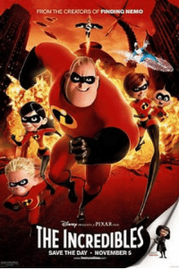 It's been 13 YEARS since The Incredibles was released on November 5, 2004 https://t.co/hGGACHkZfQ: FROM THE CREATORS OF FINDING NEMO  THE INCREDIBLES  SAVE THE DAY NOVEMBER It's been 13 YEARS since The Incredibles was released on November 5, 2004 https://t.co/hGGACHkZfQ