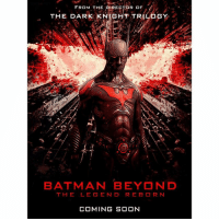 Would you want to see a BatmanBeyond Movie to End off the DCEU in the Far Future ? 🤔 Or maybe an Alternate TimeLine Story like FuturesEnd so then we won't have to wait so long. It'd be so cool to see an Old Man BruceWayne with BenAffleck ! Comment Below your Thoughts ! DCExtendedUniverse 💥 DC: FROM THE DIRECTOR OF  THE DARK  TRILOGY  BATMAN BEYOND  TH  LE GEN D RE B DR N  COMING SOON Would you want to see a BatmanBeyond Movie to End off the DCEU in the Far Future ? 🤔 Or maybe an Alternate TimeLine Story like FuturesEnd so then we won't have to wait so long. It'd be so cool to see an Old Man BruceWayne with BenAffleck ! Comment Below your Thoughts ! DCExtendedUniverse 💥 DC